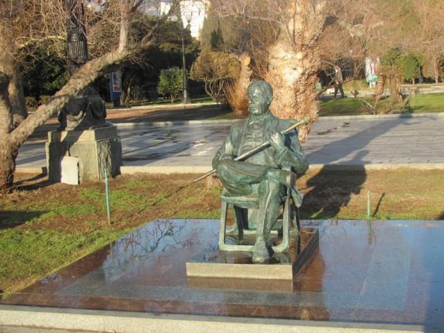 Памятник М.Пуговкину