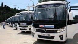 Новые автобусы выходят на ялтинские маршруты №115, №132 и №102